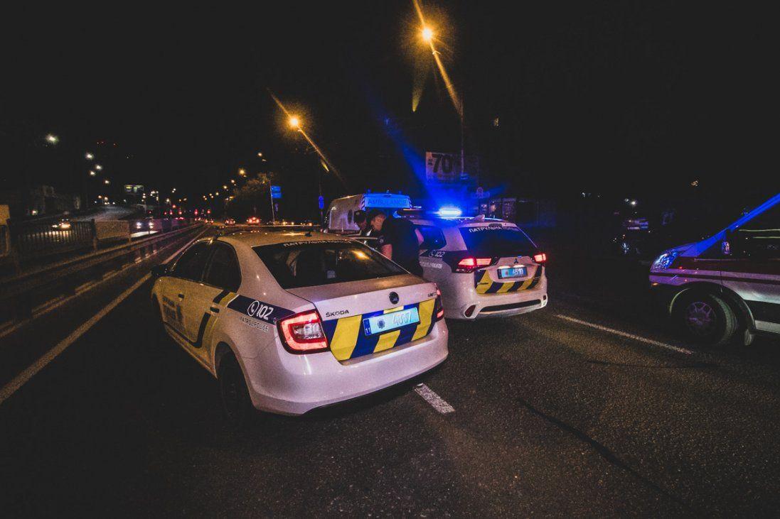 У Києві 15 екіпажів поліції ловили 18-річного хлопця (фото)
