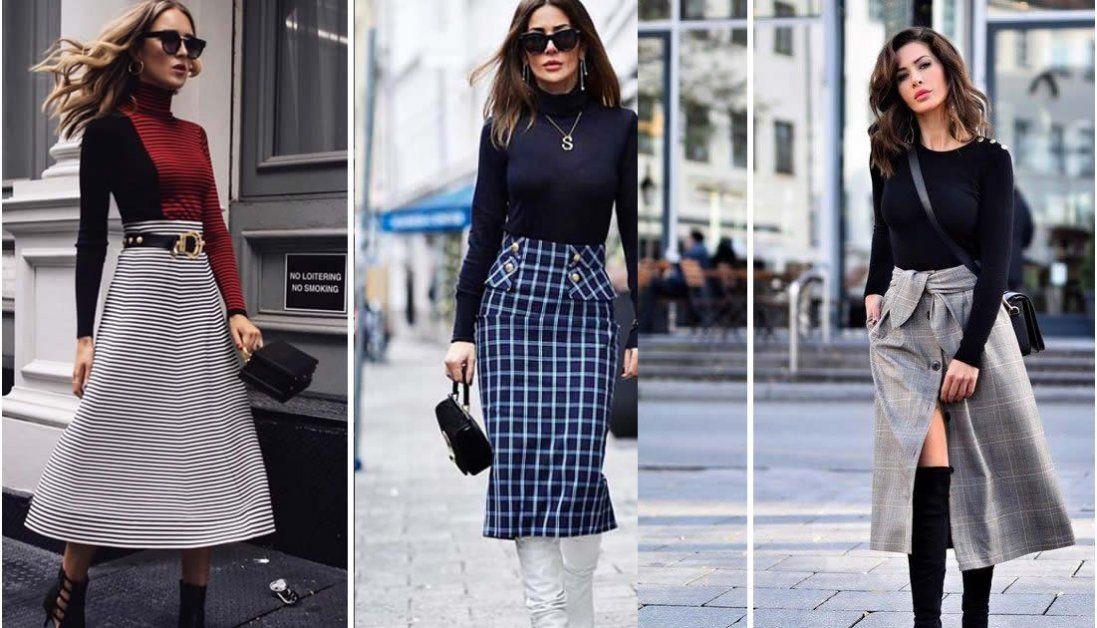 Зимові спідниці 2020 – модно та стильно