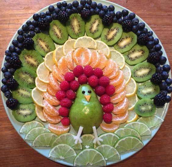 Нарізка фруктів у Новий рік 2020