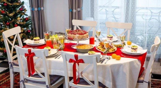 Уникайте величезних порцій на святковому столі