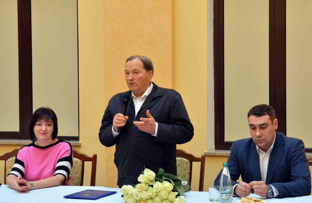 Як Івана Сидора проводили з посади керівника Волинської клінічної лікарні (фото)
