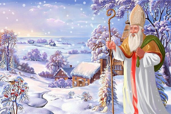 Картинки з Днем святого Миколая