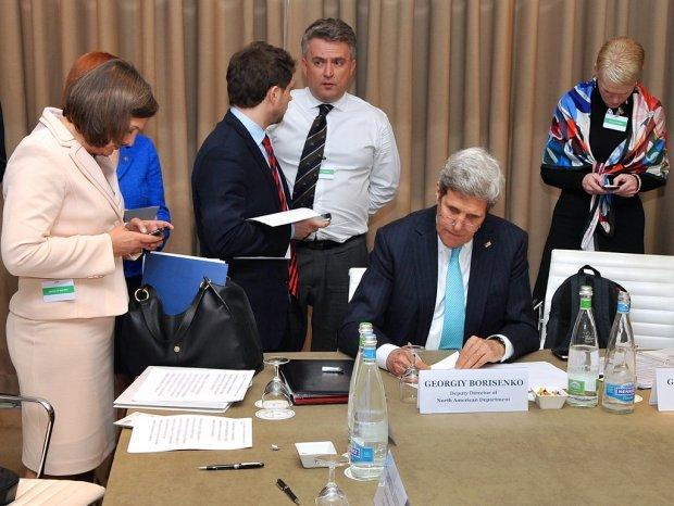 Сергій Кислиця на Женевській зустрічі у 2014 році / Фото:picssr.com
