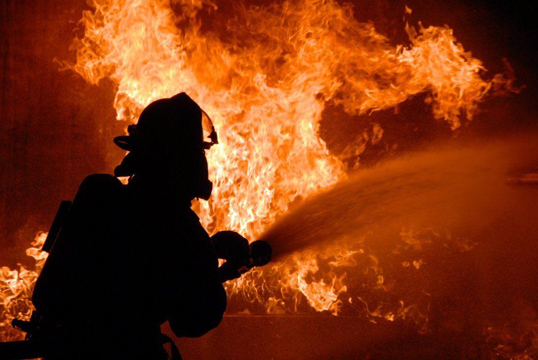 У Луцьку загорілася пекарня (фото)