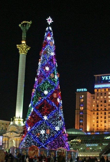 Новий рік у Києві, 2009 рік