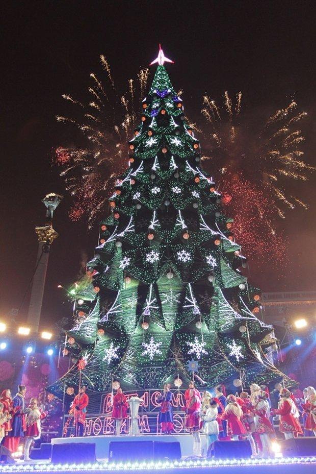 Новий рік у Києві, 2013 рік