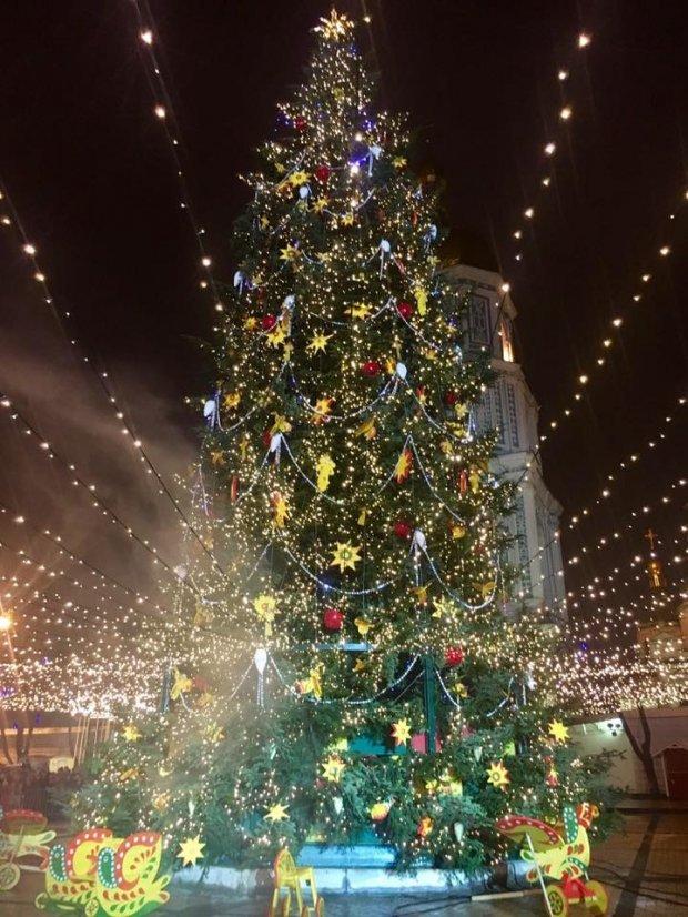 Новий рік в Києві, 2017 рік