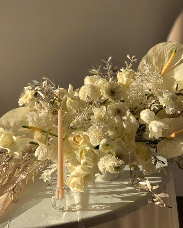 Декорації на весіллі доньки Кузьми Скрябіна Марії-Барбари /Instagram / @miss___mariya