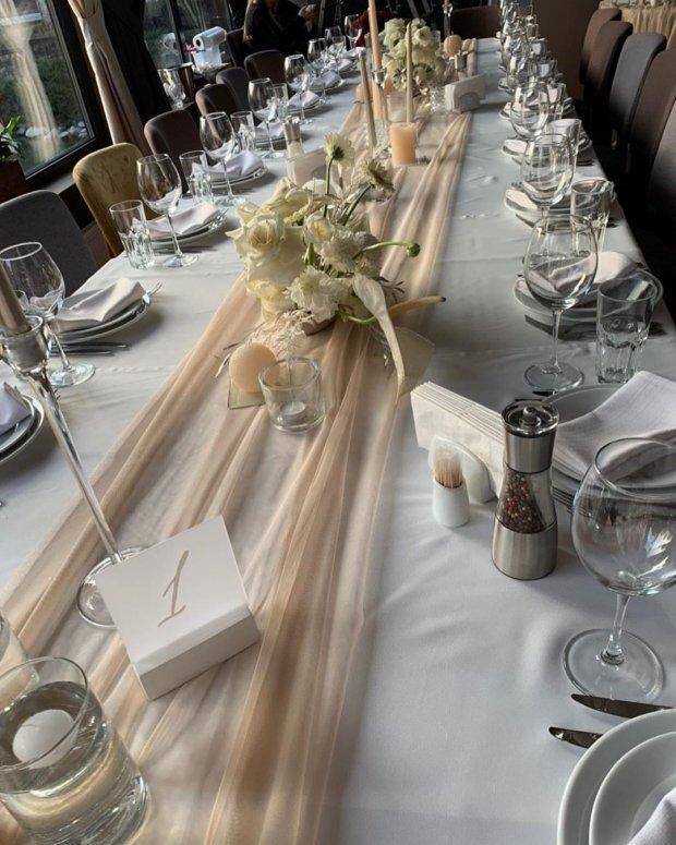Декорації на весіллі доньки Кузьми Скрябіна Марії-Барбари / Instagram / @miss___mariya
