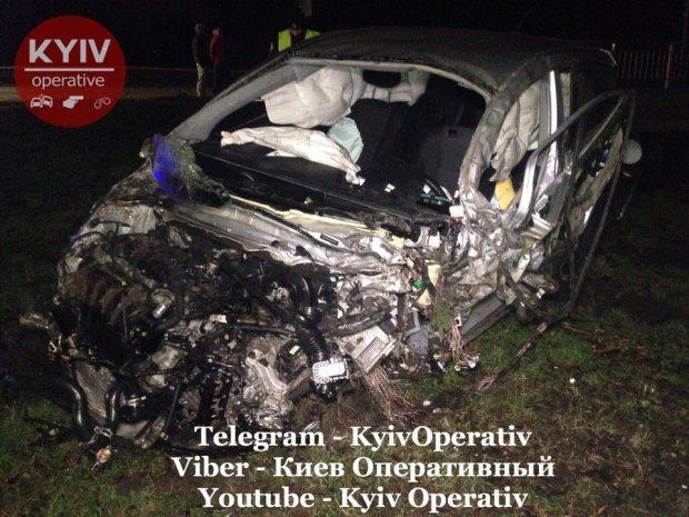 Аварія на Житомирській трасі/ Фейсбук-сторінка Київ Оперативний