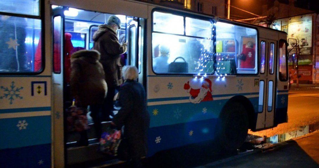 Яким буде рух транспорту у Луцьку в новорічну ніч