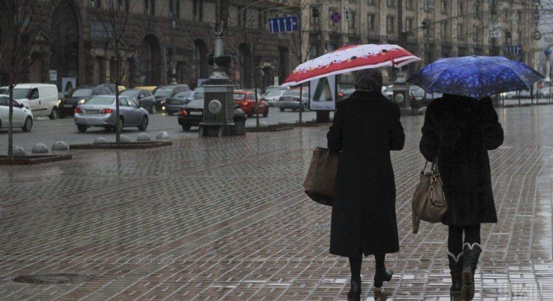 Дощі та мокрий сніг: погода в Україні 27 грудня