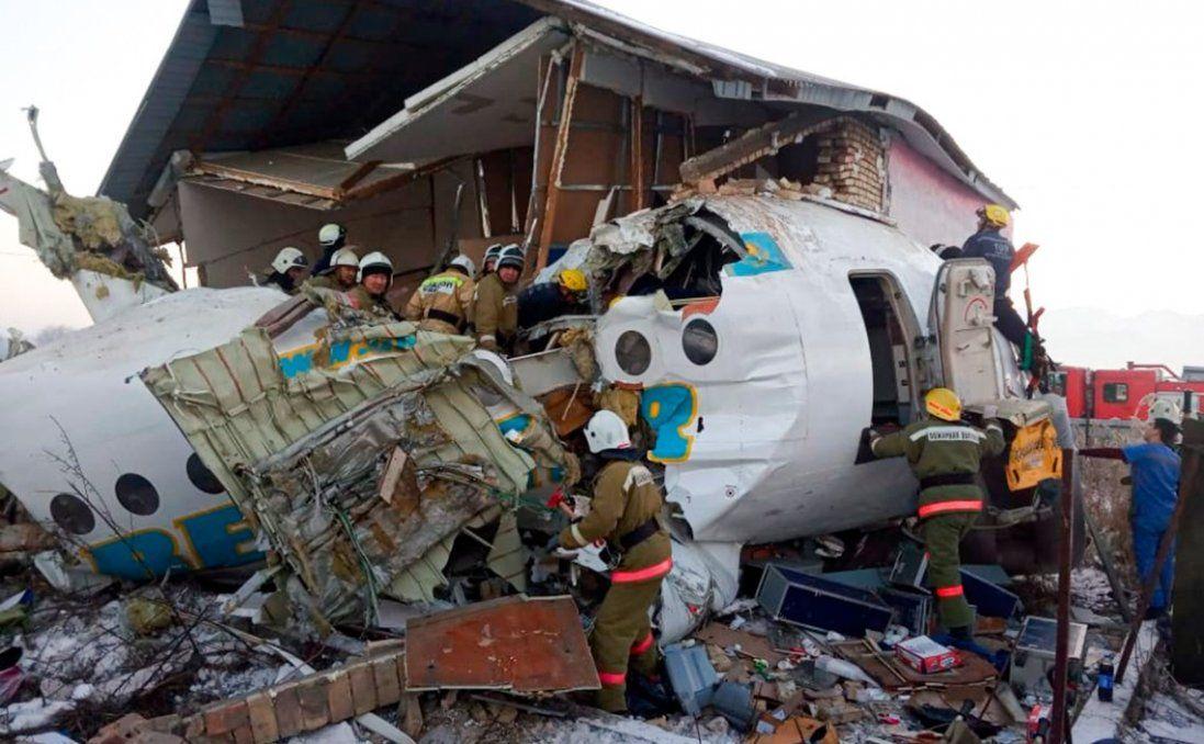 В авіакатастрофі в Казахстані постраждали українці