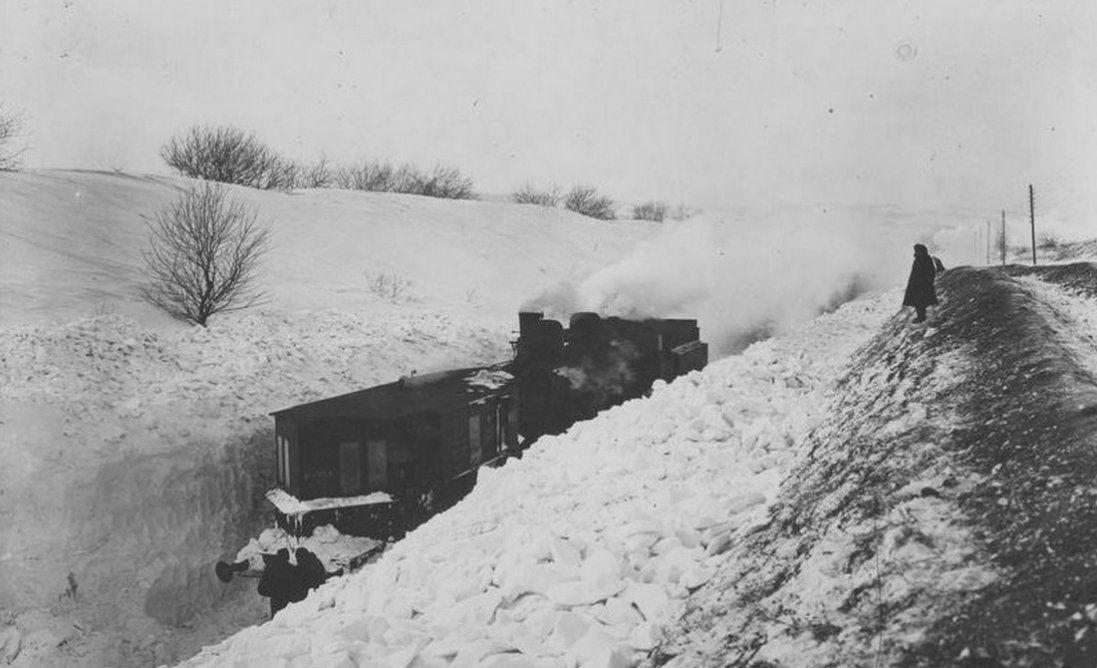 90 років тому в Західній Україні була зима століття (фото)