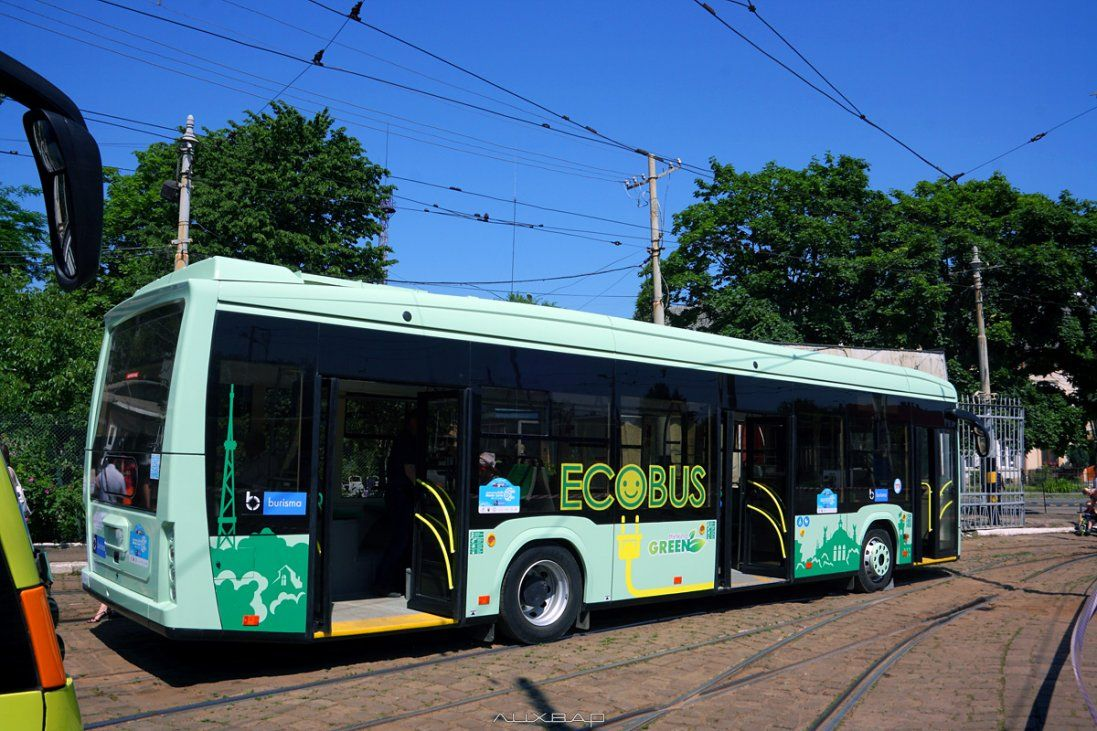 На Волині вперше зареєстрували електробус (фото)
