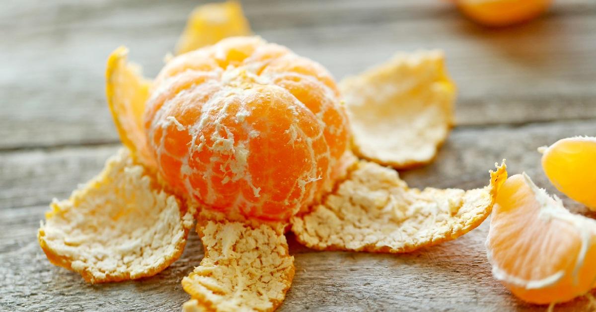 Швидше видужати допоможуть мандаринові шкірки