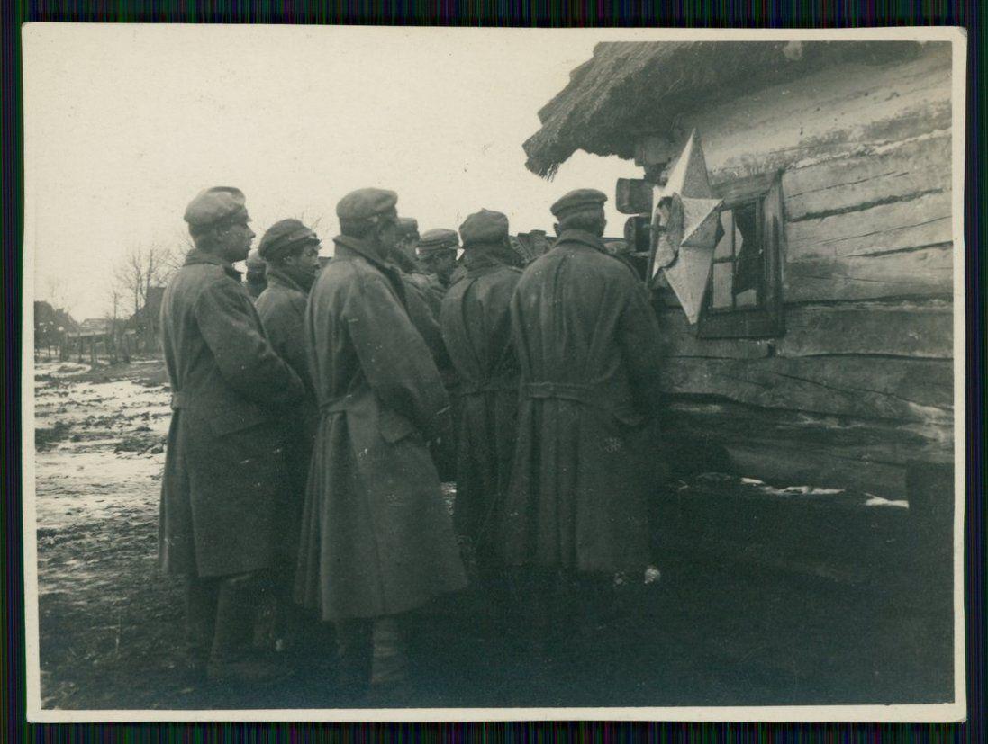 Як солдати колядували 100 років тому на Волині (фото)