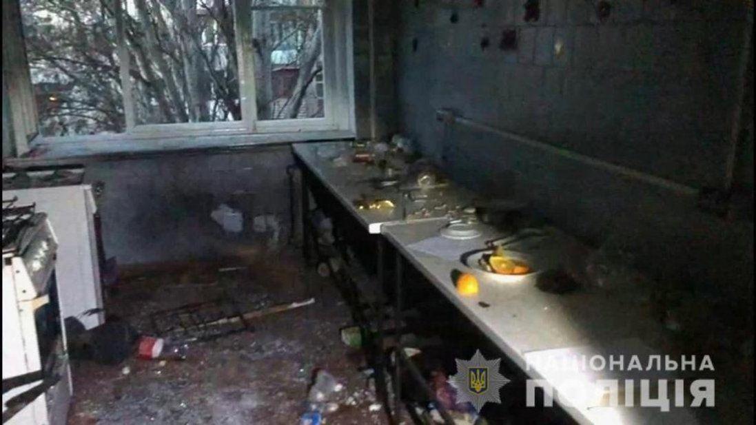 В Одесі в гуртожитку на кухні вибухнула граната (відео)