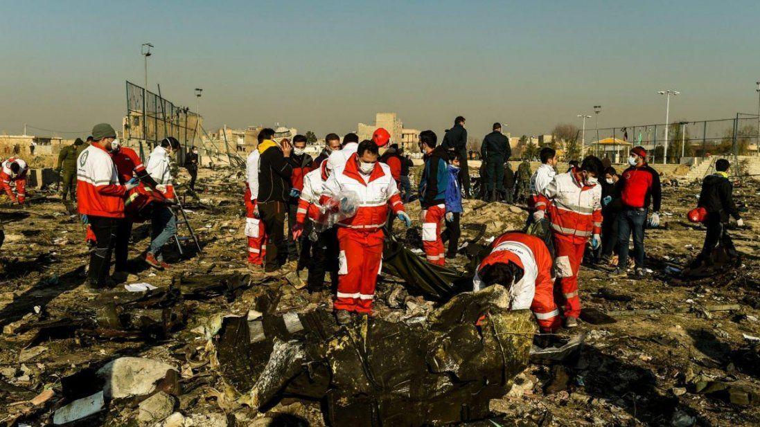 Іран може не віддати тіла загиблих у авіакатастрофі?
