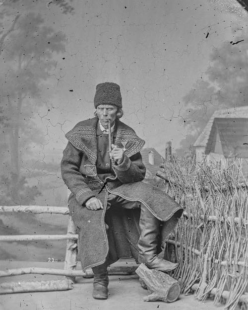 Чоловік, Східна Галичина, 1865 р.
