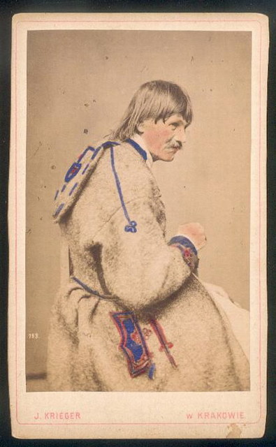 Мешканець Збаража, Тернопільщина, 1870 р.