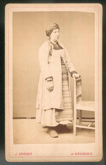 Жінка зі Збаража, Тернопільщина, 1870 р.