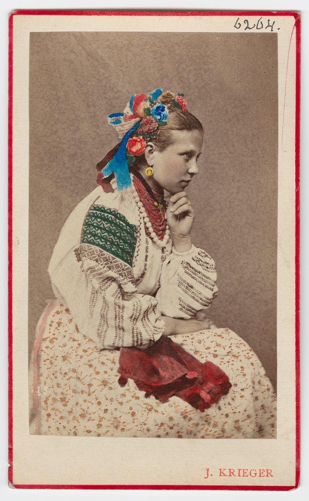 Дівчина, с. Мукша, Хмельниччина, 1870 р.