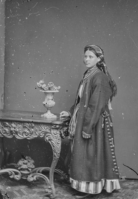 Жінка, с.Семки, Вінничина, 1865 р.