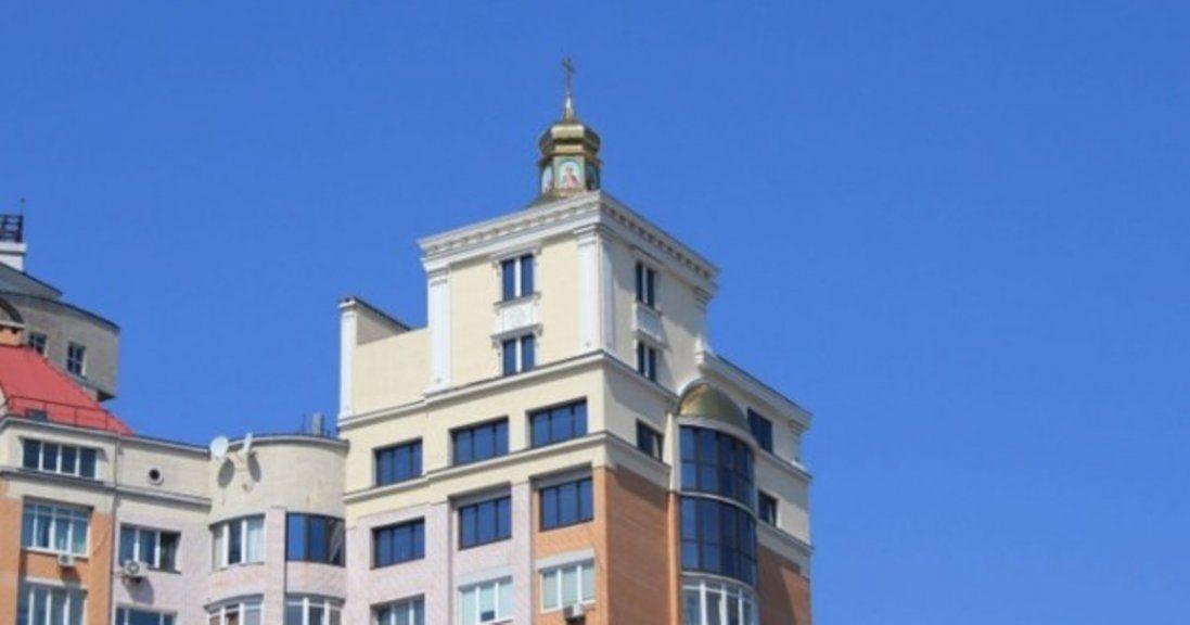 На даху 16-поверхівки в Києві збудували церкву (фото)