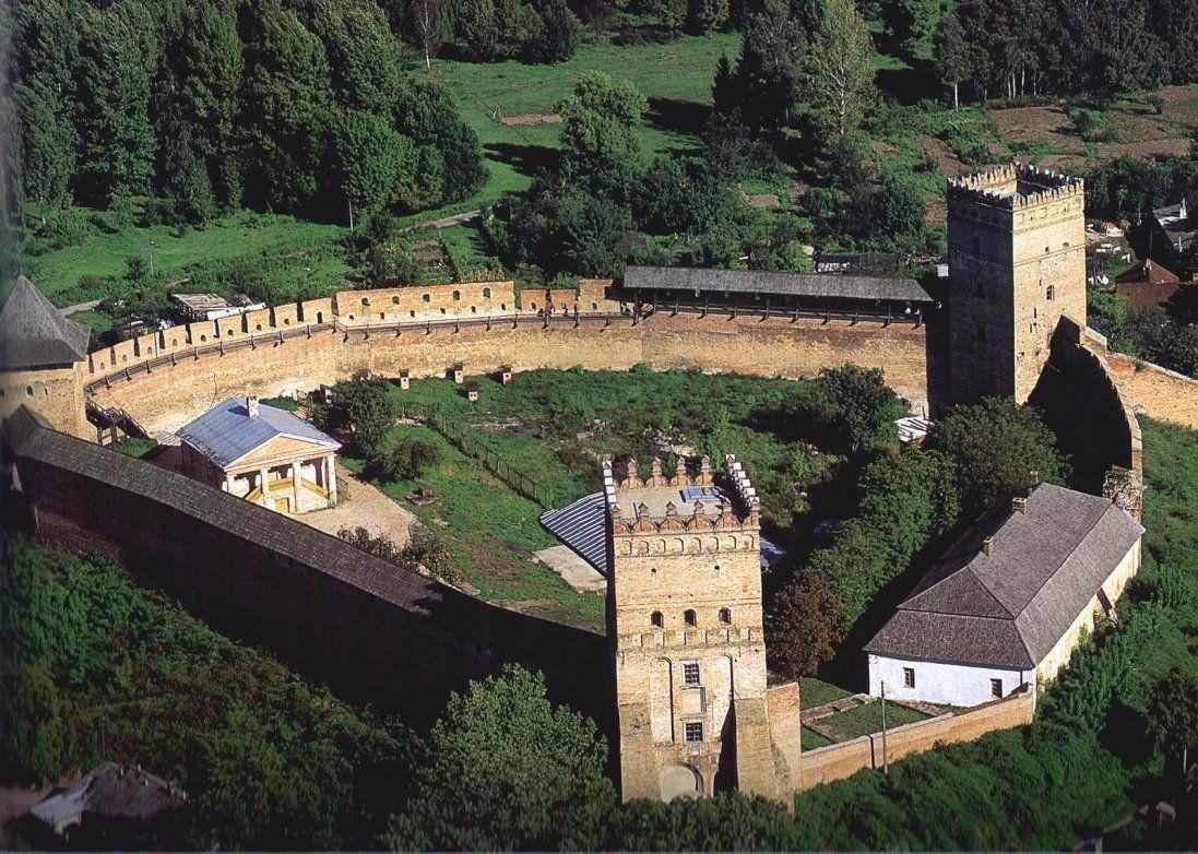 Як виглядав замок Любарта 40 років тому (фото)