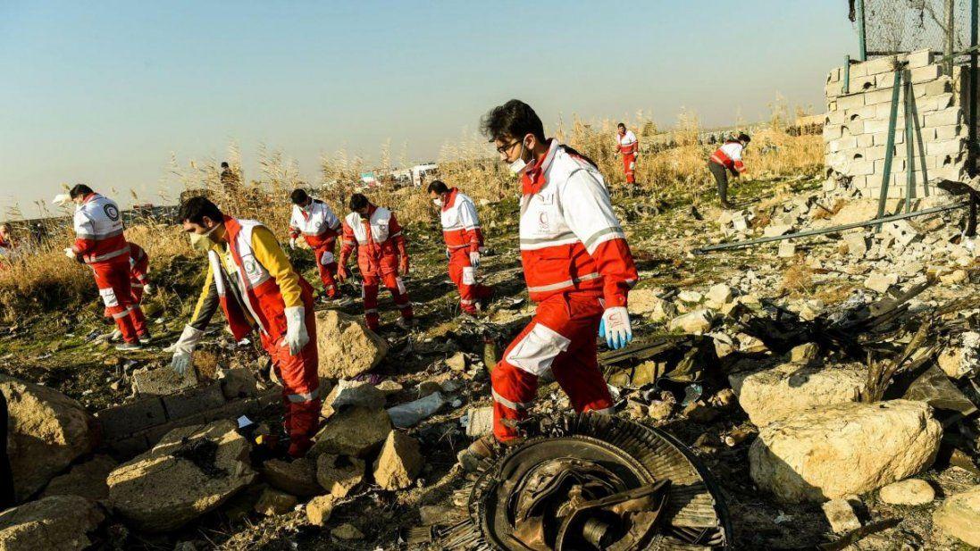 Ідентифікували перше тіло українця, який загинув авіакатастрофі в Ірані