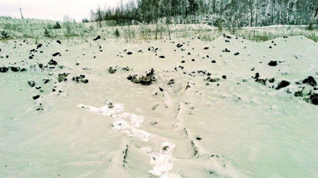 У Росії випав зелений сніг (фото)