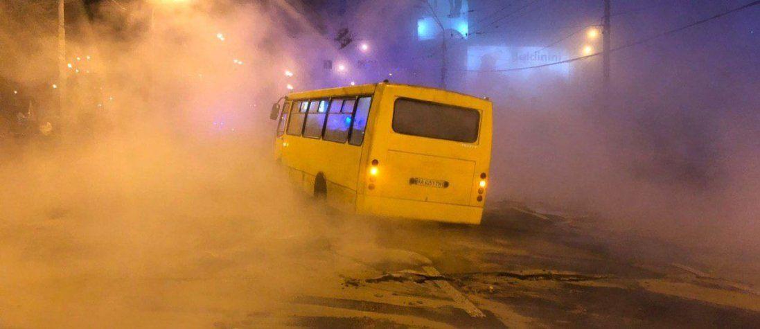 Яка ситуація в Києві зараз після прориву теплотраси (фото)