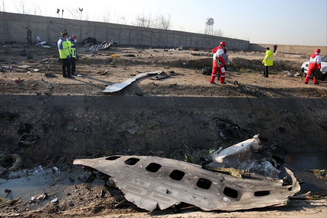 Ідентифікували тіла двох українців, які загинули в авіакатастрофі в Ірані