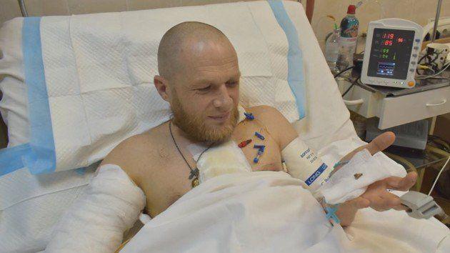 Пораненому бійцю з Луцька врятували життя