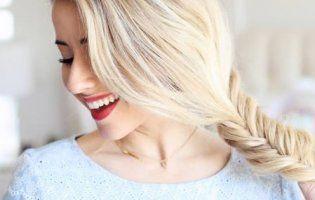 Коса риб'ячий хвіст: проста та оригінальна зачіска на кожен день