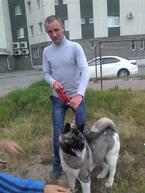 Мисливець Олексій із собакою