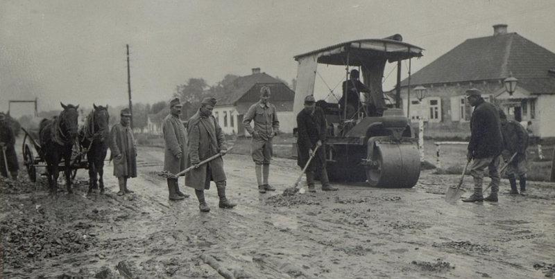 Кадри з Ковеля столітньої давнини (фото)