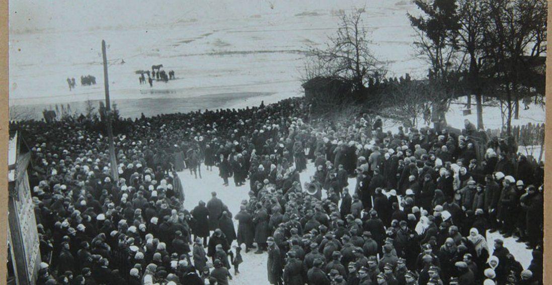 Водохреще в Луцьку 90 років тому: раритетні фото
