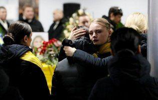 УКиєві поховали загиблих в Ірані українців