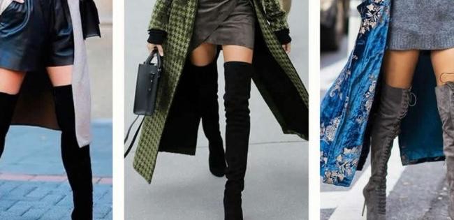 Модно та стильно: з чим носити ботфорти