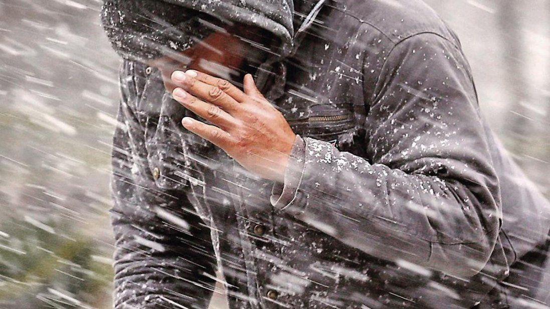 В Україну іде снігова буря