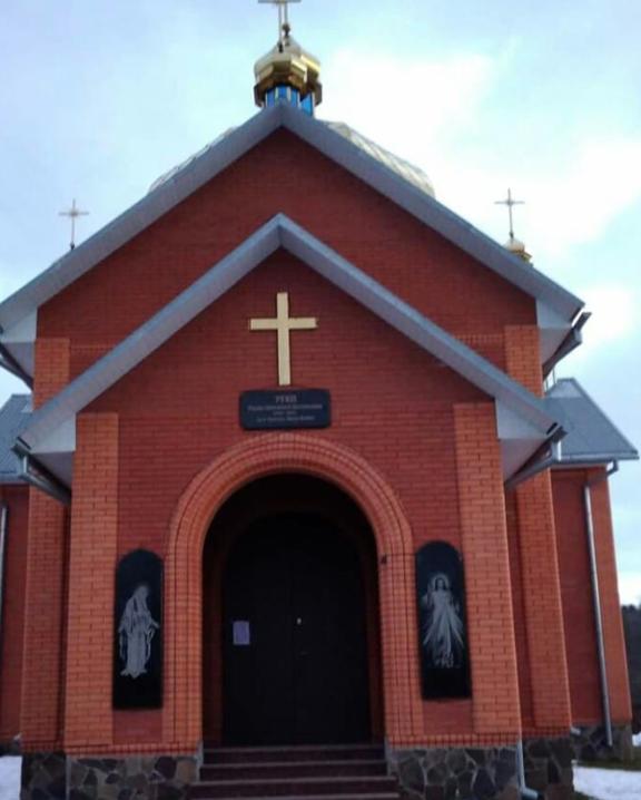 Успенська церква в Горохолиному Лісі