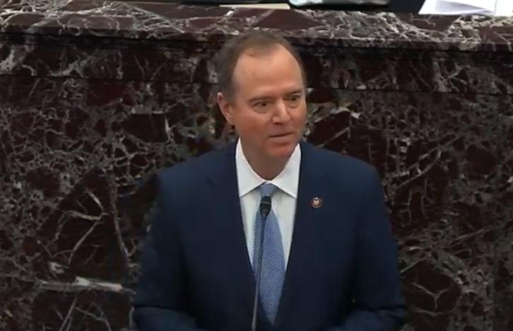 Шифф виступив у Сенаті