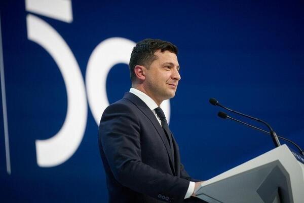 Зеленський виступив з промовою в Давосі
