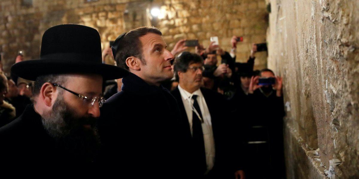 Макрон у Єрусалимі поскандалив з ізраїльською поліцією (відео)