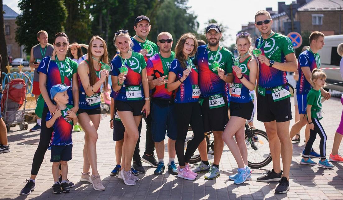 Команда «Епікур» пробігла естафету «навколо Землі» (фото)