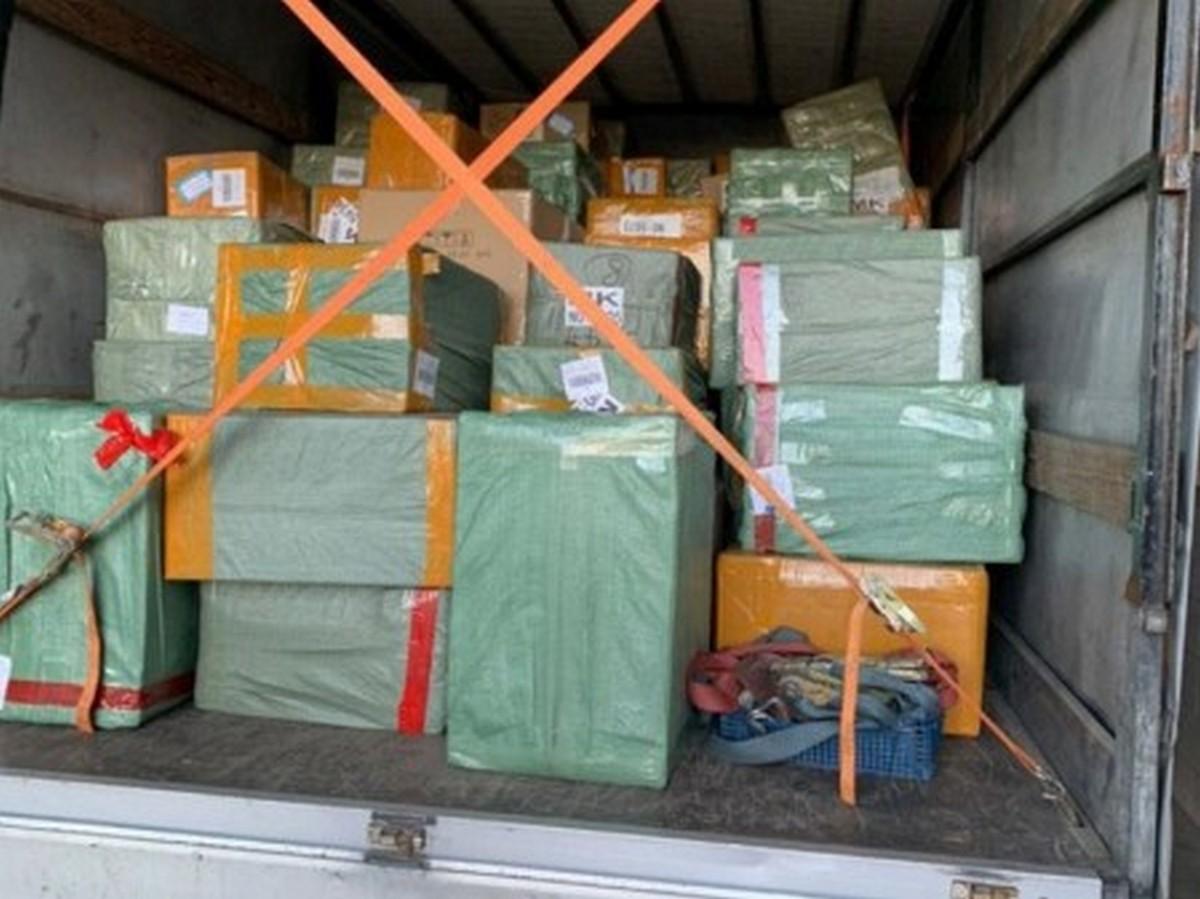 Через «Ягодин» провезли контрабанду на 285 тисяч (фото)