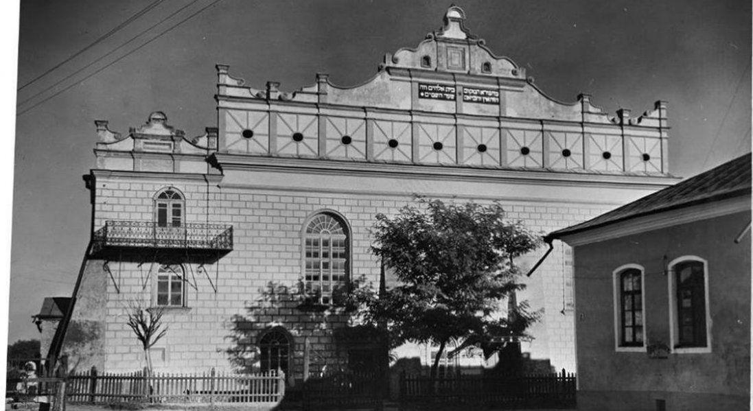 Волинські синагоги на ретрофото