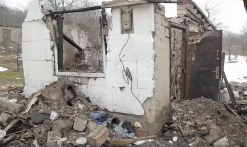 Батько спалив будинок і залишив багатодітну сім'ю без житла